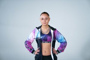 100% Hardcore lady girl merchandise training suit