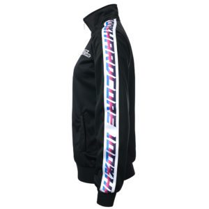 100% Hardcore lady jacket training sport stripe fitness