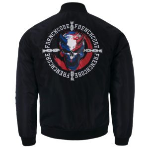 Frenchcore bomber jacket winterjack hardcore