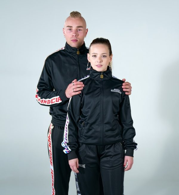 100% Hardcore girl couple gabber training suit