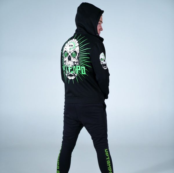 Limitless hooded zipper and jogging pants by 100% Hardcore