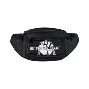 100% Hardcore hipbag united we stand. Raise your fist