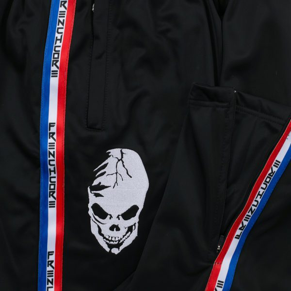 Frenchcore Training pants classic, with skull and stripe