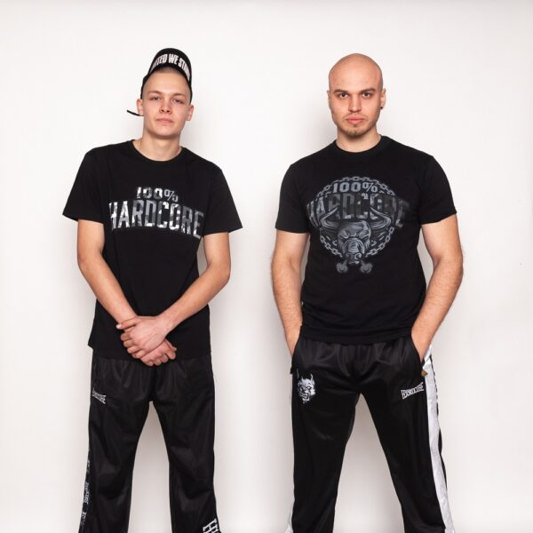 100% Hardcore new summer T-shirt gabber collection at officiall gabberwear webshop