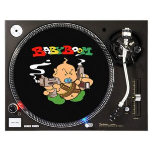 babyboom records slipmat gabber vinyl merchandise clothing
