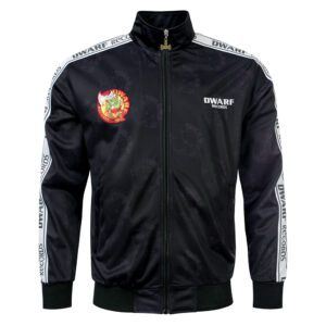 Early DWARF gabber training jacket with taping webshop 100% Hardcore