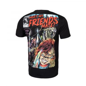 Pit Bull West Coast T-shirt Chucky Jason and Freddy Krueger 100% Hardcore webshop