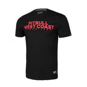 Pit Bull West Coast 100% Hardcore webshop agressive dog print streetwear fighting
