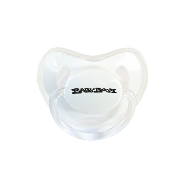 Babyboom records baby soother with oldschool gabber logo 100% Hardcore webshop
