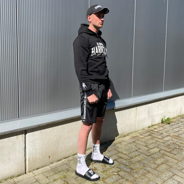 Sander wearing 100% Hardcore new collection for official webshop