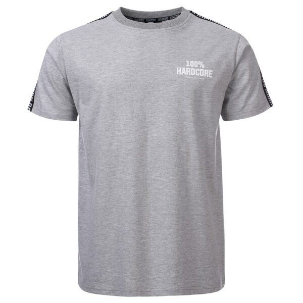 100% Hardcore summer T-shirt united we stand collection gabberwear clothing striped
