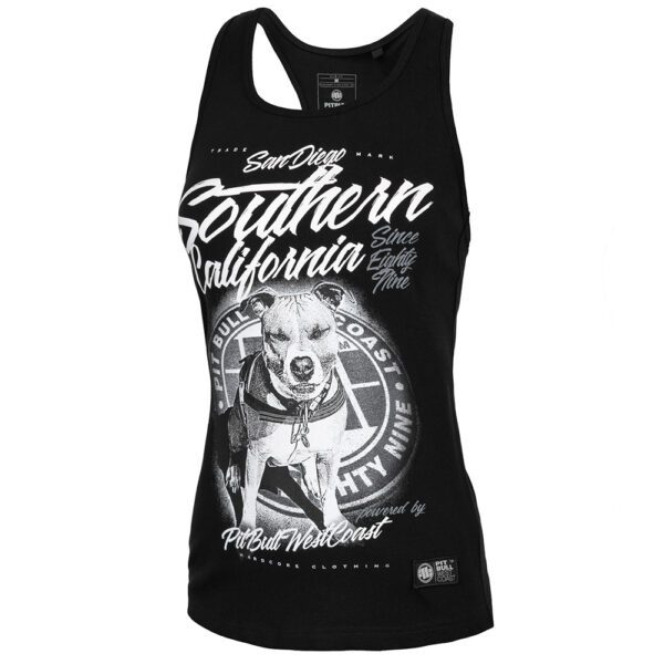 Pit BUll West Coast lady summer collection tanktop dogprint streetwear clothing